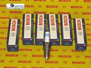 BMW 6 Piece Spark Plug Set - BOSCH - 0242236562, FGR7DQP+, +48, 4417 - NEW OEM