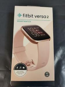 FITBIT Versa 2 Health & Fitness Smartwatch with Amazon Alexa - BRAND NEW BOXED