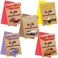 Birthday Greeting Cards rude funny joke cheeky 30th 40th 50th 60th 70th Card