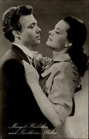 Film Kino Bühne TV Schauspieler Karlheinz BÖHM & Margot HIELSCHER ca. 1950/60