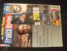 **m Revue France Routes n°320 Poster Scania R 480 / 24h du Mans camions 2008
