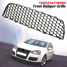 Front Bumper Lower Center Grille Grill Replacement For 2005-2009 VW Golf MK5 GTi