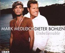 Mark Medlock Unbelievable (2 tracks, & Dieter Bohlen) [Maxi-CD]
