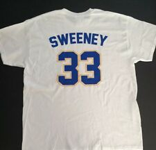 Mike Sweeney #33 Wilmington Blue Rocks Mens Jersey T-shirt Size XL New KC Royals