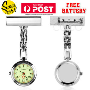 Nurse Nursing Metal Watch Luminous Glow in Dark Face Pendant Fob Pocket Quart