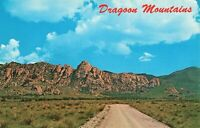 Postcard Dragoon Mountains Arizona