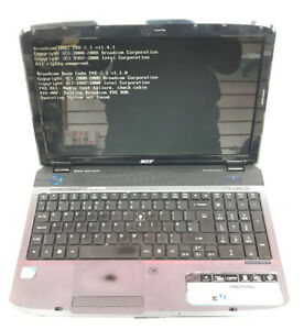 Acer Aspire 5738/5338 Series MS2264 4GB Ram  Home Theater Laptop- No HDD-Faulty