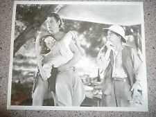 Johnny Weissmuller ORG 1936 Re-Strike 8x10 Tarzan Escapes Black & White Vintage