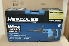 New Hercules 145 Amp 23 Lb Sds Max Type Demolition Hammer He36