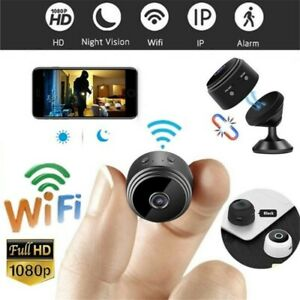 Mini-Kamera WLAN Wifi IP Home Security HD 1080P DVR Nachtsicht Fernbedienung