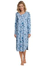 Nachthemd Sleepshirt Kurzarm Knopfleiste 38-54 M-7XL SCHIESSER Damen