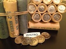 ^^^BRILLIANT^^^ Uncirculated 1967 Rabbit Nickels - 1 Original Bank Wrapped Roll