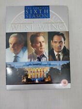 The West Wing Complete Sixth 6 Season DVD Box Set Region 2 VGC