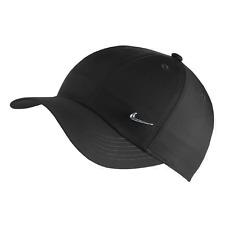 Nike Metal Swoosh Heritage86 Kinderkappe Verstellbare Mütze schwarz AV8055 010