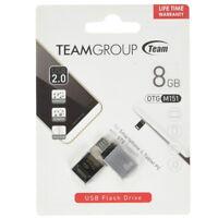 Pendrive penna USB e Microusb OTG flash drive Team 8GB smartphone tablet TM08