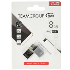 Pendrive penna USB e Microusb OTG Team 8GB per Sony Xperia X Performance TM08