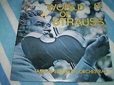 World of Strauss 2 LP set K-tel International RARE 1973 Canadian import