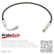 BRAIDED 4 SPD AUSSIE M20-M21 MANUAL CLUTCH HOSE [HOLDEN FE-FC-FB-EK-EJ-EH-HD-HR]
