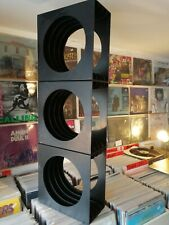 SCHWEIZER DESIGN - VINYL RECORD STORAGE CUBES X3 - CLASSIC 1970'S GERMAN DESIGN
