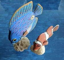 Angel Fish and Clown Fish Collectible, Decorative Accessories, Fun! Lower price!