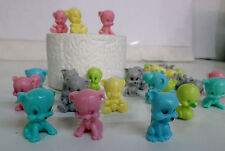 """NEW 1""""Animal Squisheez Squishy Squishies Multi-Colored Set of 20 Party Favors!"""