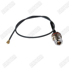 IPX / u.fl to N-Type female jack bulkhead RF pigtail cable 1.37mm for Wireless