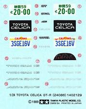 TAMIYA Decal 24086 1/24 Toyota Celica GT-R