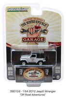 2012 Jeep Wrangler Busted Knuckles Garage GREENLIGHT DIECAST 1/64