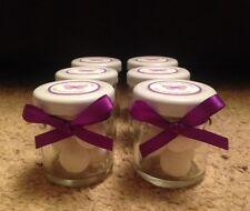 Miniatura Jarra Boda Favores Personalizado X 30 en Cadbury Púrpura
