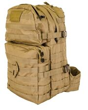 New 40 Litre MOLLE Assault Grab Pack RUCKSACK Coyote Tan Cadet ArmyAirsoft