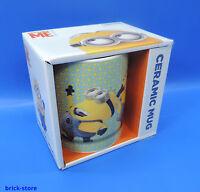 MInion Ceramic Mug / Tasse  Porzellantasse im Geschenk Set