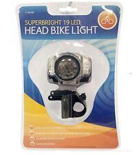 2in1  19 LED superhelle Kopflampe & Fahrradlampe Wasserdicht Stirnlampe