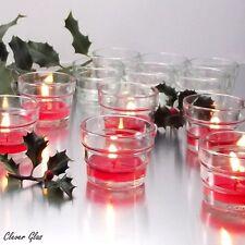 24 Teelichtgläser In Stufenform - Teelichtglas