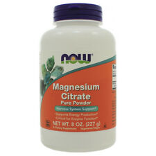 NOW Foods - Magnesium Citrate Pure Powder NL0068 NN Exp.11.19+ SD