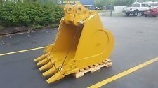 "New 54"" Caterpillar 336 Db Linkage Heavy Duty Excavator Bucket with Pins"