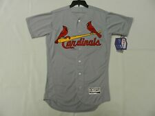 New listing Authentic St. Louis Cardinals Road Gray Flex Base Jersey 42