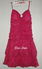 Gorgeous Birthday Summer LETTE USA Pink sexy evening cocktail party dress size S
