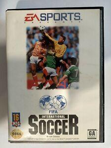 FIFA INTERNATIONAL SOCCER - SEGA MEGADRIVE GENESIS BOXED