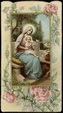 santino-holy card ediz. NB***** n.B-7002 MARIA MADRE DI DIO