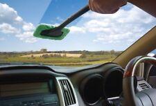 Car Glass Cleaner Windshield Wonder Cloth Valet Microfiber Wiper Demister Pad