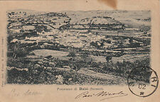 NP5805 - BULZI SASSARI - PANORAMA VIAGGIATA 1902