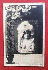 CPA. Artiste MEATY FLEURON. Art Nouveau. Lys. Phot. Oricelly.