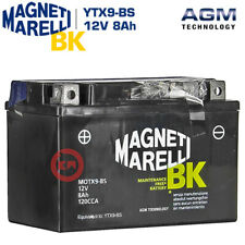 BATTERIA MAGNETI MARELLI YTX9-BS 12V 8Ah KAWASAKI Z 750 2007-2008-2009-2010-2011