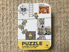 50 Piece Despicable Me 3 Mini Jigsaw Puzzle New - Perfect Stocking Filler!