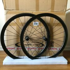New Light Bicycle WR38 Falcon Pro Carbon Disc Wheelset Road Gravel 32mm Wide GRX