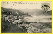 CPA Algérie PHILIPPEVILLE SKIKDA en 1906 La RADE prise du PETIT BOIS GARE TRAIN