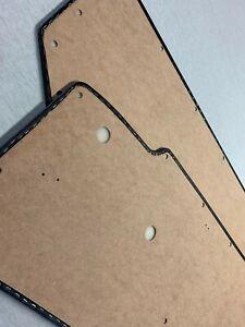SUNBEAM ALPINE SERIES V, 5 DOOR CARD TRIM PANEL BLACK - PAIR /