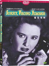 Sorry, Wrong Number (1948) Barbara Stanwyck, Burt Lancaster DVD *NEW