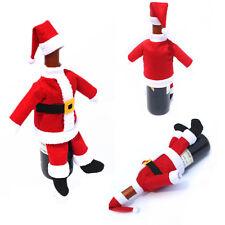 Flaschendeko Weihnachten Nikolaus Geschenkverpackung Flaschen Geschenk Taschen