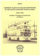 EKB12 CURRENT FLEETS LONDON TRANSPORT CONTRACTORS PSV CIRCLE 1993